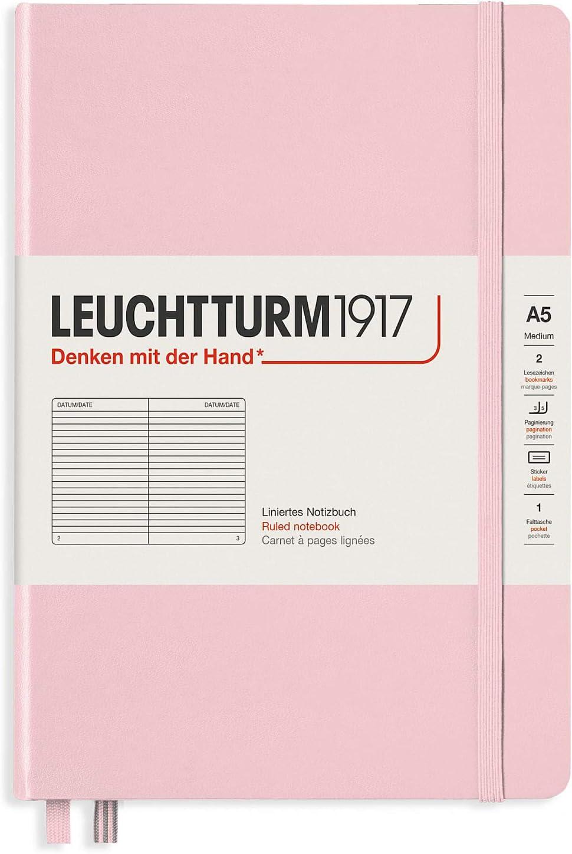 A5 liniert Leuchtturm1917 Special Edition Muted Colours Notizbuch Hardcover