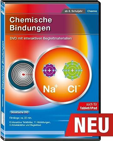 Chemische Bindungen - Film und digitale Tafelbilder auf DVD für PC ...