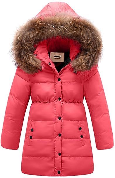 Amazon.com: ZOEREA - Chaqueta de abrigo para niñas ...