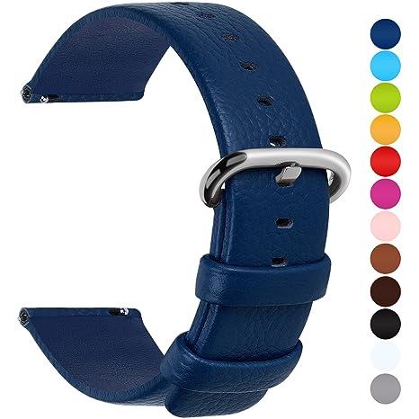Fullmosa Uli Piel Correa Reloj, 12 Colores para Correa/Banda/Pulsera/Strap