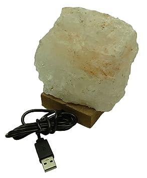 Ionizado Energizar Himalaya Crystal Rock Usb Led Sal Purificador ...