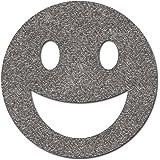 Happy Face Bügelbild Reflektor für Kleidung, ähnl. Smiley