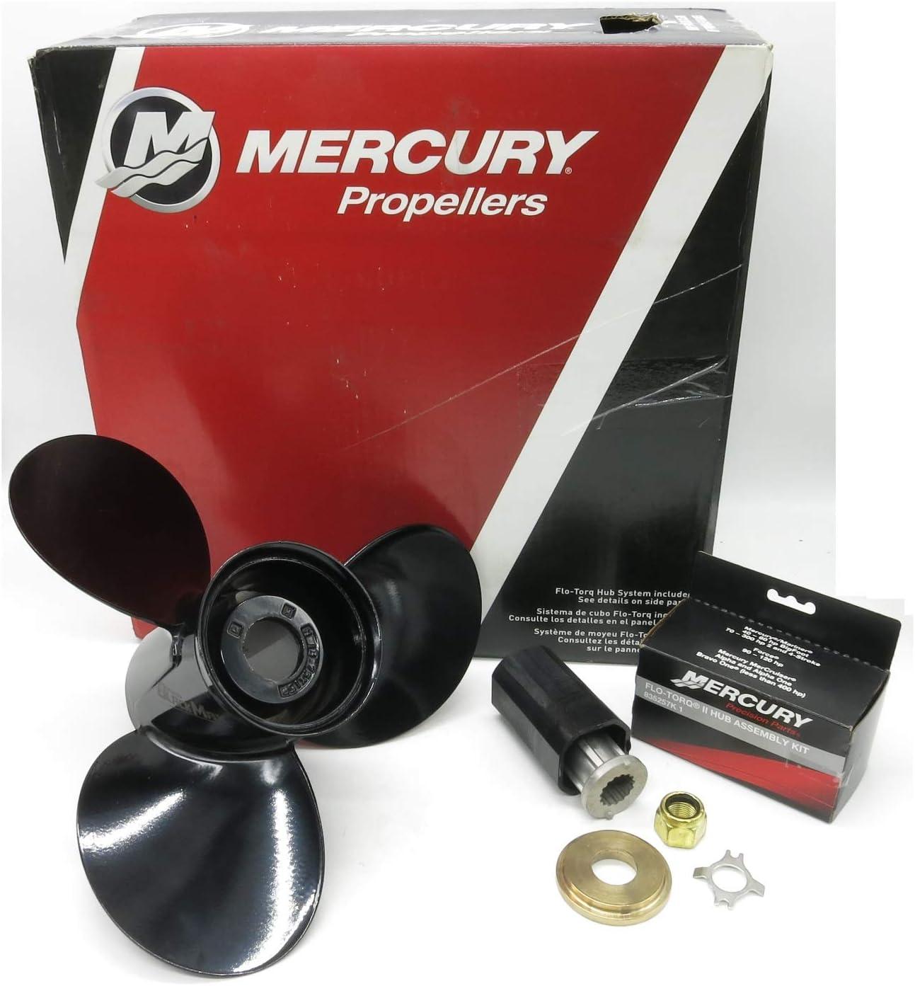 Mercury Blackmax 3 Blade Prop Propeller 13 X 19