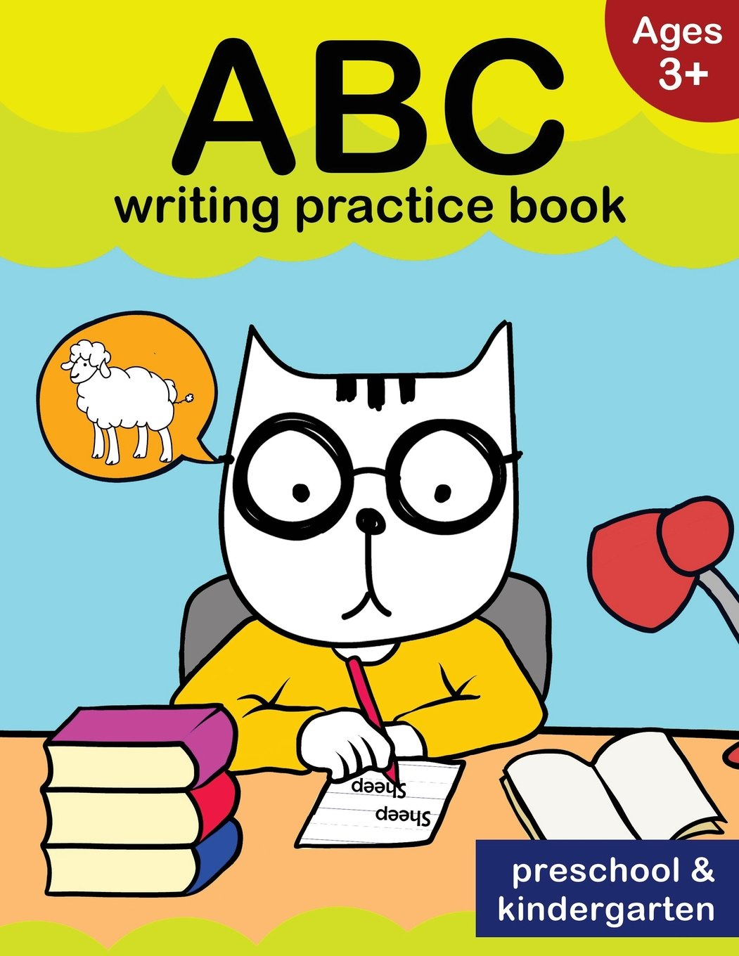 Amazon.com: ABC writing practice book: Ages 3+: letter tracing for ...