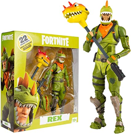 Amazon.com: Fortnite McFarlane Toys Rex - Figura de acción ...