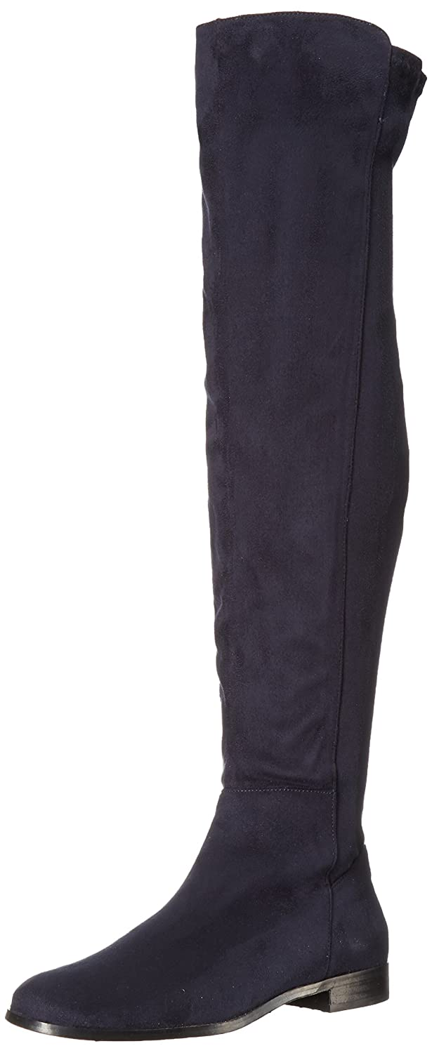 Opportunity Shoes - Corso Como Women's Landow Over The Knee Boot B06WLQNW37 9.5 B(M) US|Navy Suede