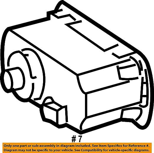 Amazon Com Mercedes Benz 171 545 03 04 Headlight Switch Automotive