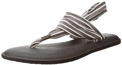 963f8985dfe9 Amazon.com  Sanuk Women s Yoga Sling 2 Prints Flat Sandal  Shoes