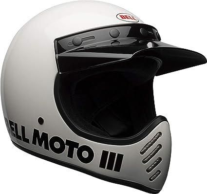 Bell Moto 3 >> Amazon Com Bell Moto 3 Off Road Motorcycle Helmet Classic Gloss