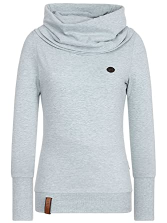 Naketano Damen Sweater Kurzer Schniedelwutz Sweater