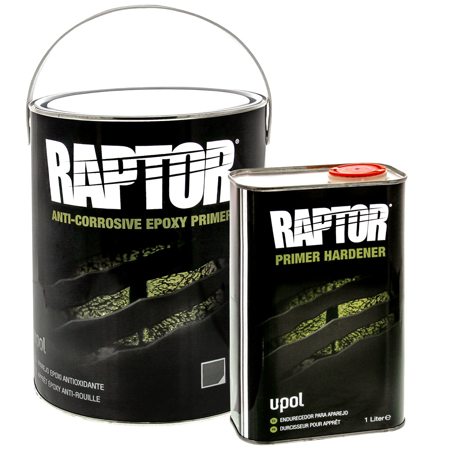 Raptor 4:1 Anti-Corrosive Epoxy Primer Kit UP4830 Gray 5L