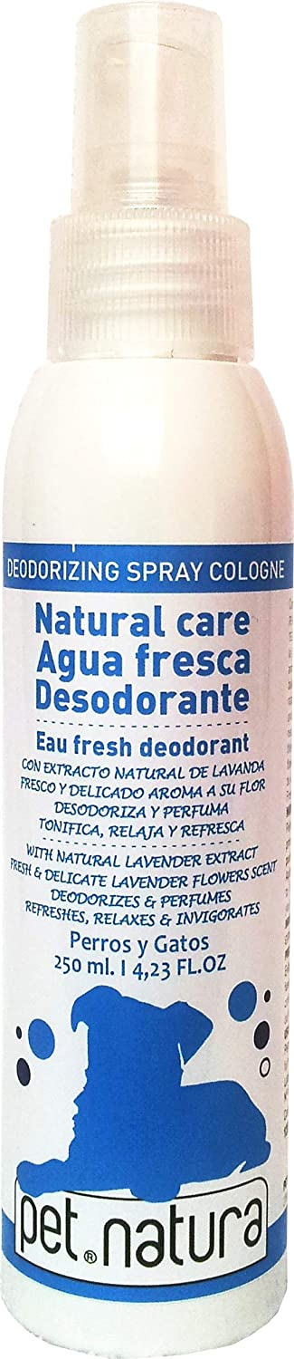 Pet natura Colonia Lavanda Perros y Gatos 125 ML: Amazon.es ...