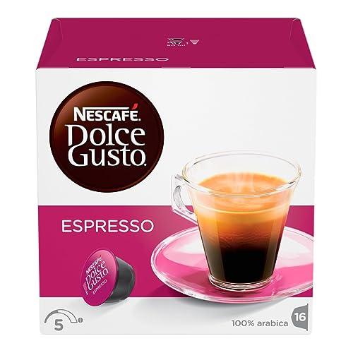 Nestle 'espresso' for Dolce Gusto coffee capsules (16 Capsules)