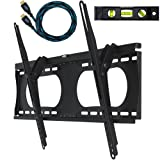 Amazon Price History for:Cheetah Mounts APTMMB Tilting Wall Mount Bracket for 32 to 65 Inch TV Sets; Twisted Veins 10 Foot HDMI Cable; 3 Axis Magnetic Bubble Level