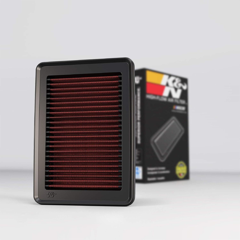 K&N Engine Air Filter: High Performance, Premium, Washable, Replacement Filter: 2014-2019 Honda (Fit, HR-V, Jazz, Vezel), 33-5027