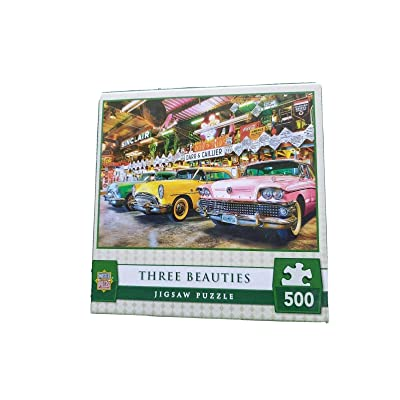 MasterPieces Wheels Collection Three Beauties Puzzle (500 Piece): Toys & Games
