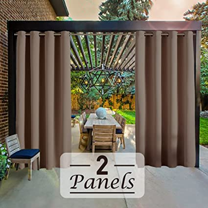 Gentil RHF Outdoor Blackout Curtains, Patio Curtains, Outdoor Curtain For Patio, Outdoor  Patio Curtains