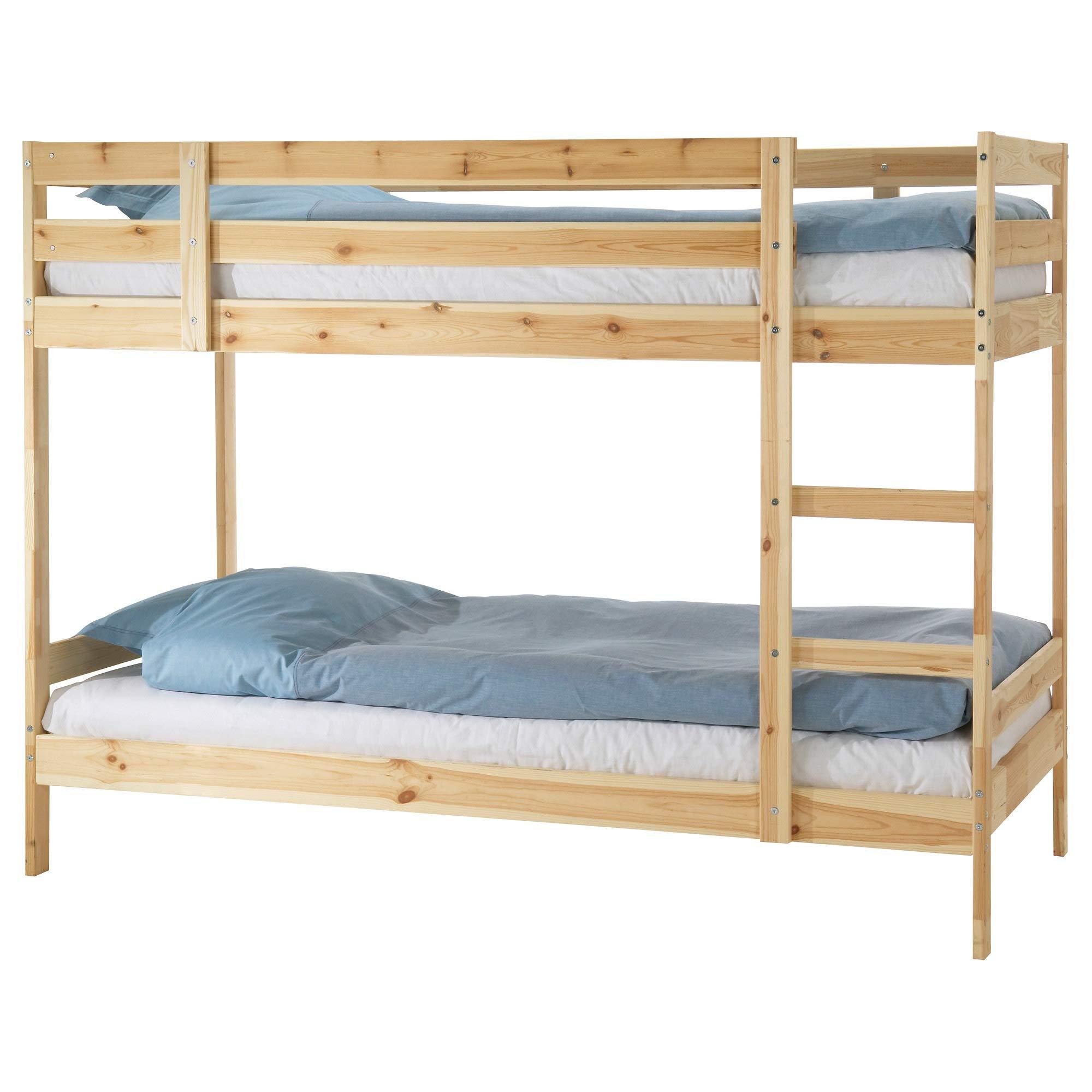 IKEA.. 201.024.51 Mydal Bunk Bed Frame, Pine