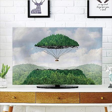 iprint - Cubierta Antipolvo para televisor LCD, diseño de ángel ...