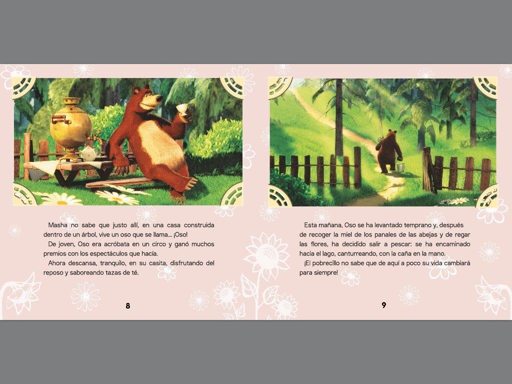 Masha y el Oso 1. ¿Quién eres tú?: VV AA: 9788448845940: Amazon.com: Books