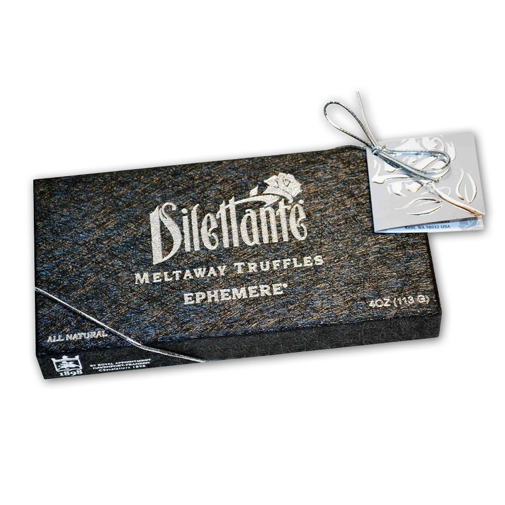 Ephemere Meltaway Truffles - Chocolate Truffle Gift Box - by Dilettante (3 Pack)