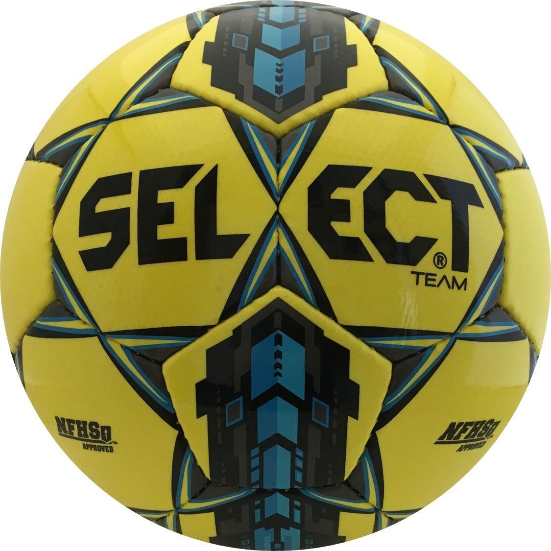 選択チームサッカーボール B0199RZI42イエロー/ブルー 5