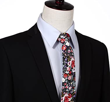 Amazon.com: biyini algodón para hombre corbatas pañuelo ...