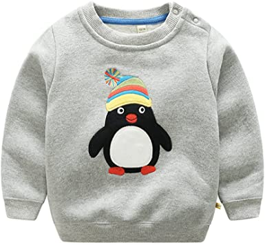 Baby Boys Sweatshirts Love You More Long Sleeve Crewneck Shirt Tops Blouse Pullover Sweaters Casual Outfits