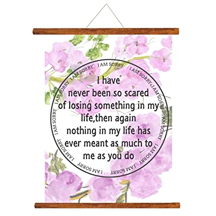 Buy Yaya Cafe I Am Sorry Scroll Greeting Card Purple 15X20 Inches Online At Low Prices In India