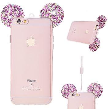 coque silicone iphone 6 mickey