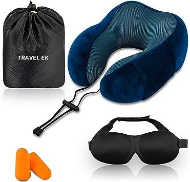 Travel Pillows and Drawstring Bag