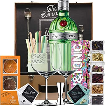 Kit Gin Tonic Tanqueray Ten: Amazon.es: Alimentación y bebidas