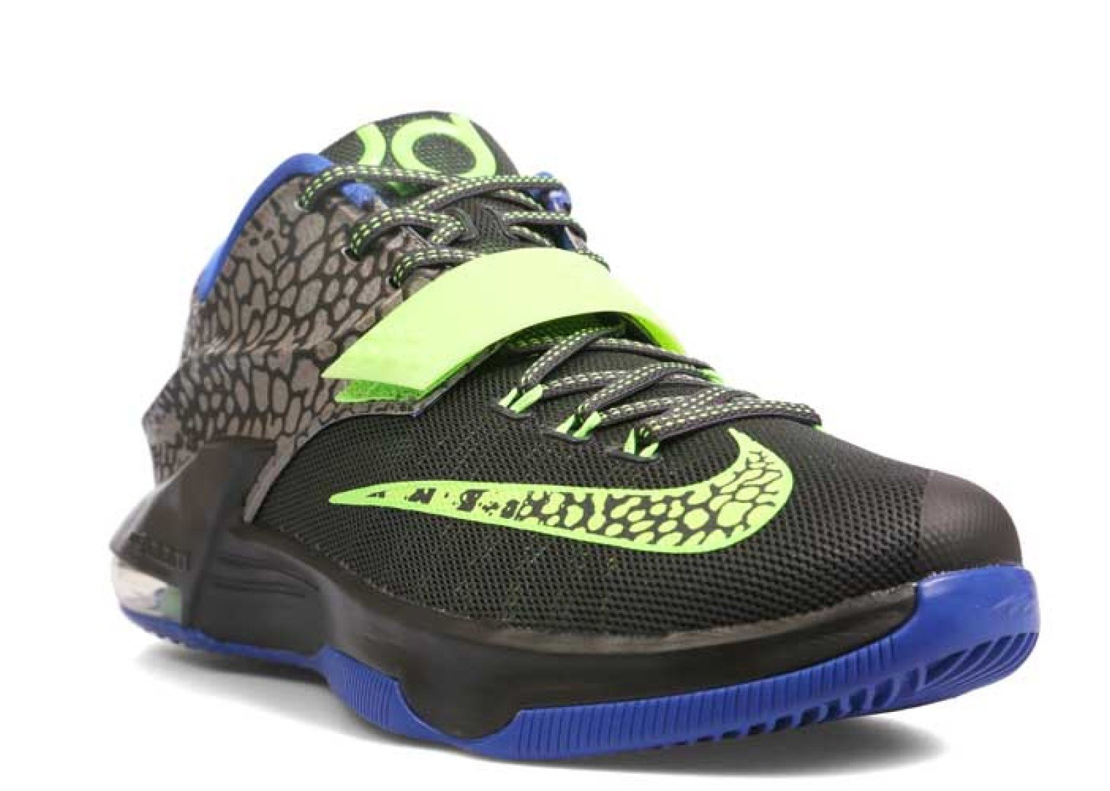 competitive price 5b436 11a69 Galleon - Nike KD VII Electric Eel Men's Shoes Metallic Pewter/Flash Lime- Anthracite-Lyon Blue 653996-030 (12 D(M) US)