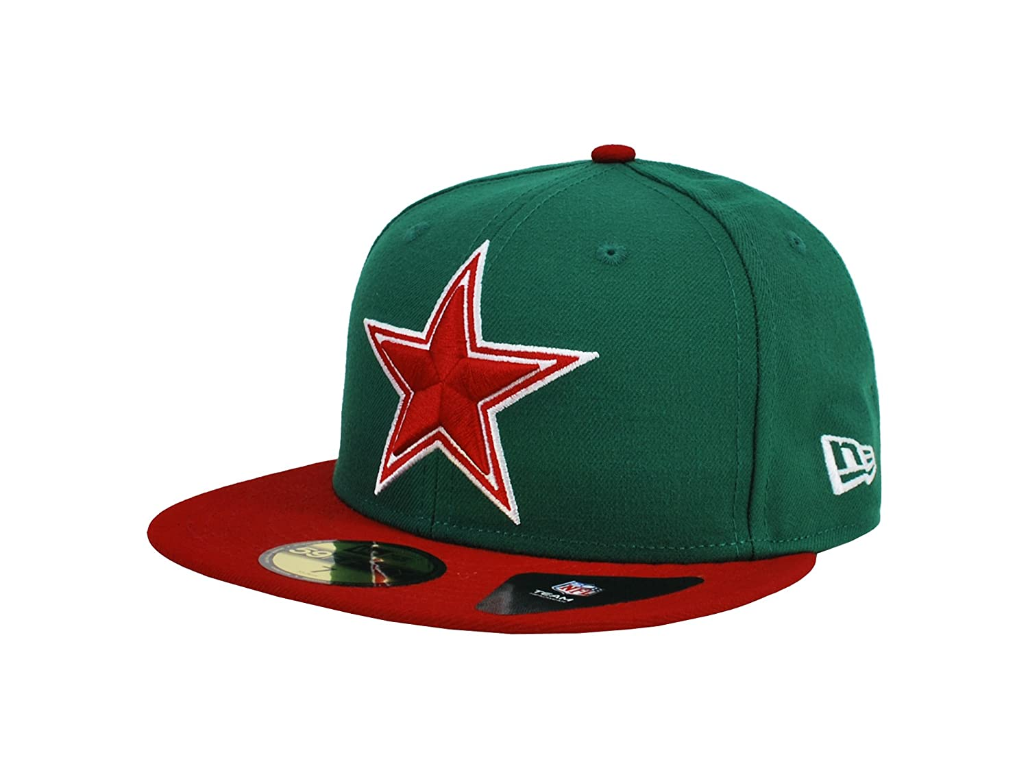 Amazon.com  New Era 59Fifty Hat Dallas Cowboys Mexico Flag Edition Green   Red Redux Fitted Cap (8)  Clothing d2a30c6358d