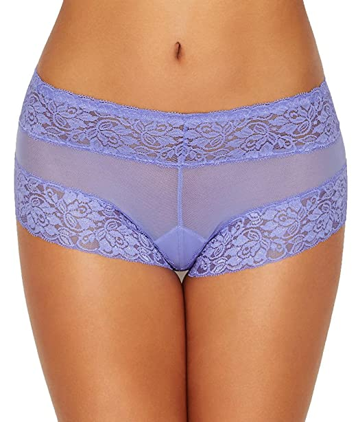 1406c9150a4ca Camio Mio Mesh   Lace Boyshort at Amazon Women s Clothing store