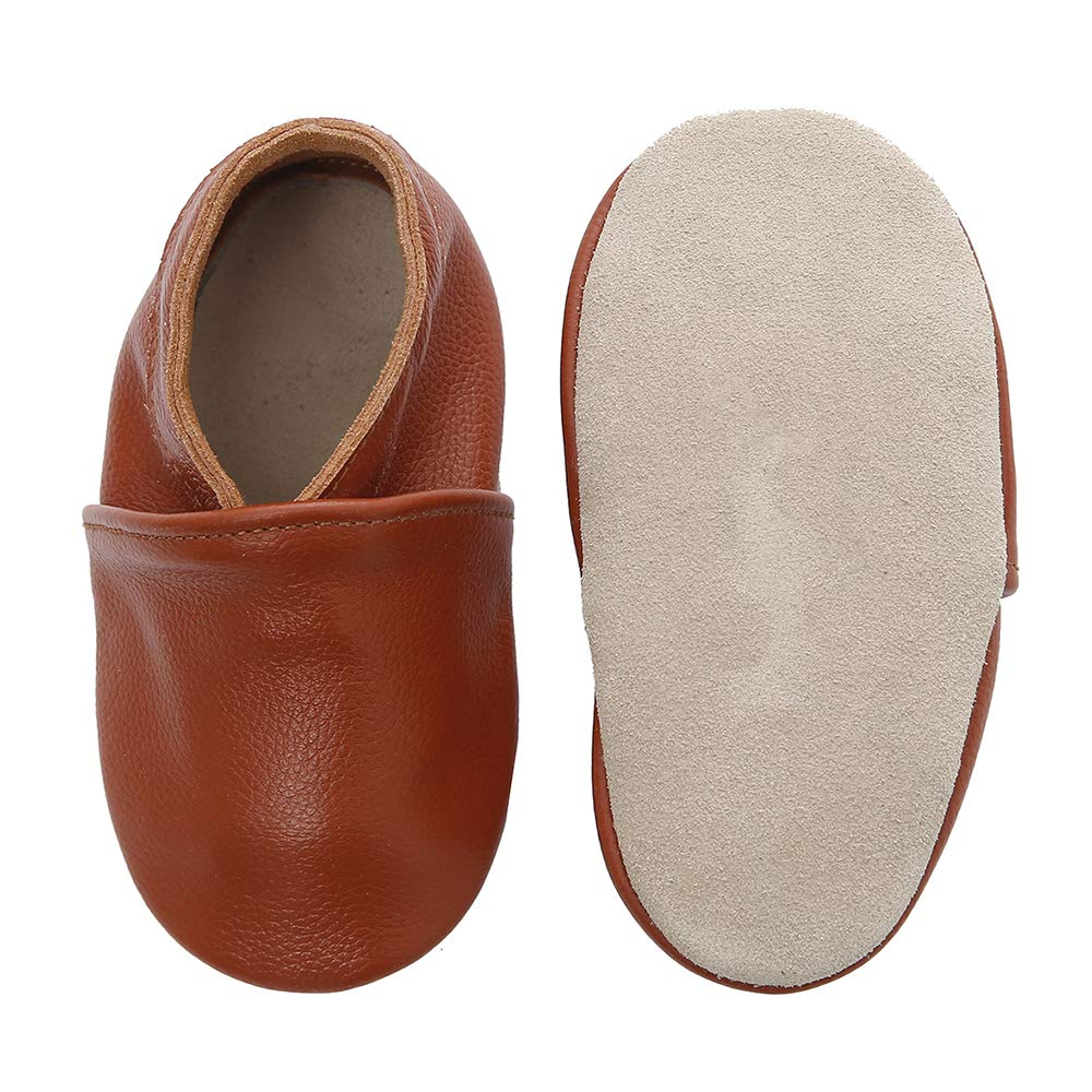 Leather Baby Shoes First Walker Toddler Infant Moccasins 0-24 Months