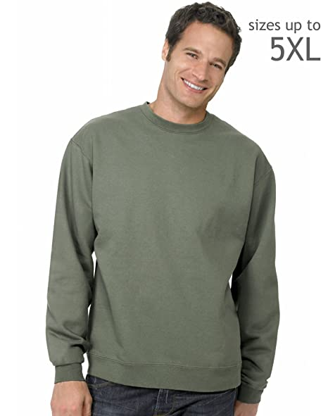 4791ffd0 Image Unavailable. Image not available for. Color: Hanes P160 Hanes  ComfortBlend EcoSmart Crew Sweatshirt ...