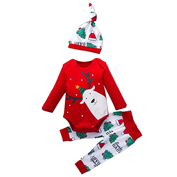 Baiomawzh Ropa Navidad Bebe Niña Niño Otoño Invierno ...