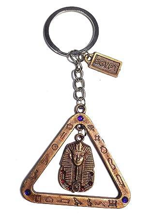 Amazon.com: King TUT - Llavero de cartografía egipcia hecho ...