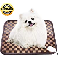 JUEYING Pet Cat Dog Heating Pad - Heated Pad for Pets - Warming Mat for Dogs - Electric Heat Bed…