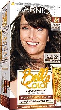 BELLE COLOR 24 castano scuro naturale - Tintes para el cabello