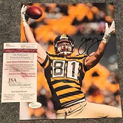 Image Unavailable. Image not available for. Color  Jesse James Autographed  Signed Pittsburgh Steelers 8x10 Photo - JSA Authentication edc57486a