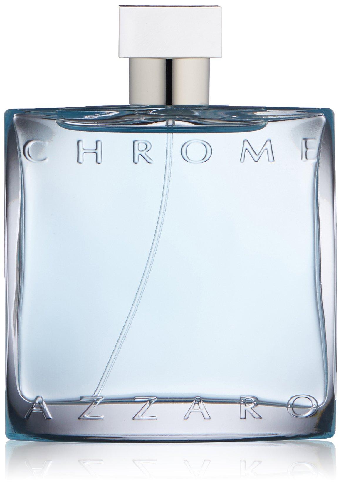 Azzaro Chrome Eau de Toilette Spray, 3.4 Fl Oz