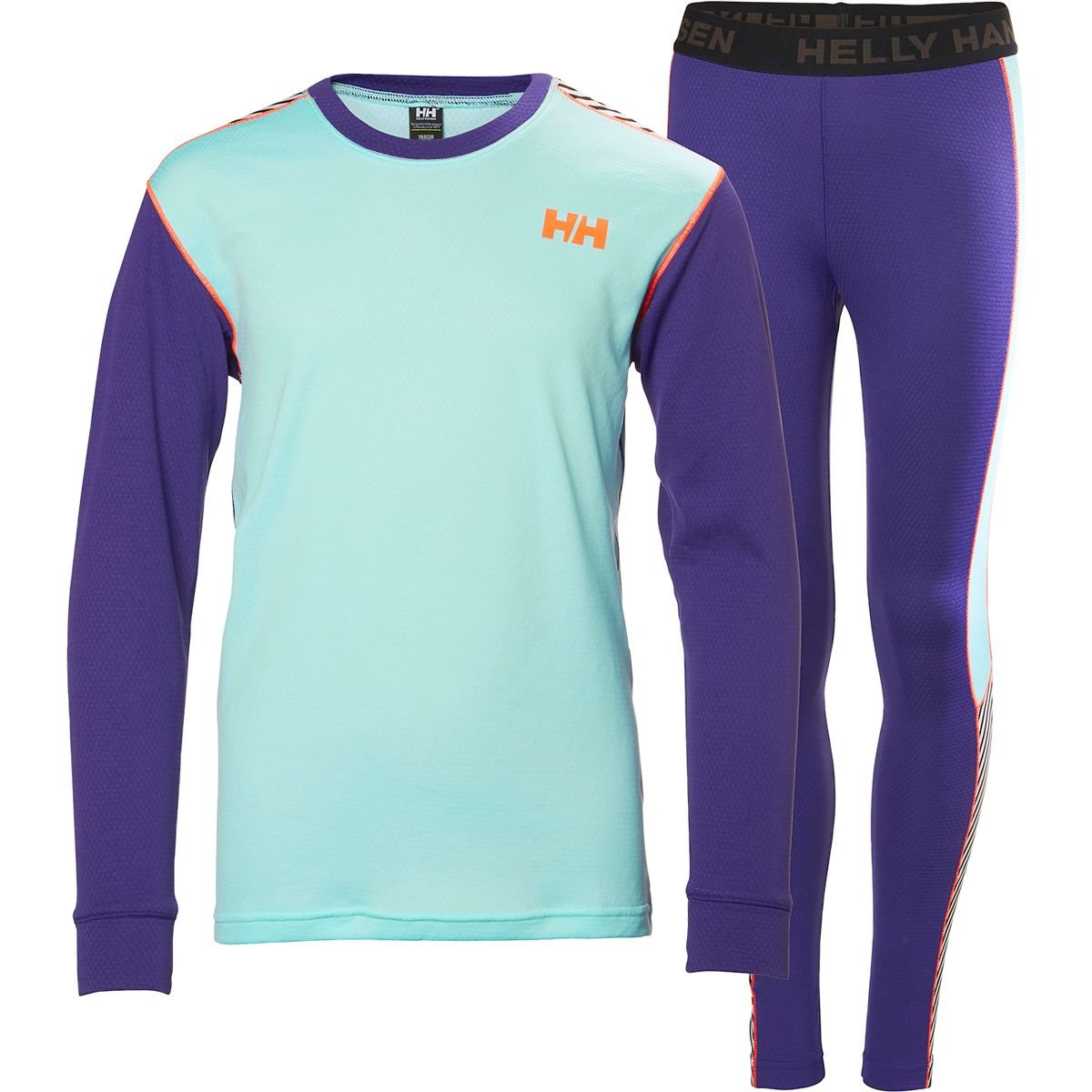 Helly Hansen Junior Lifa Active Baselayer Set, Lavender, Size 14