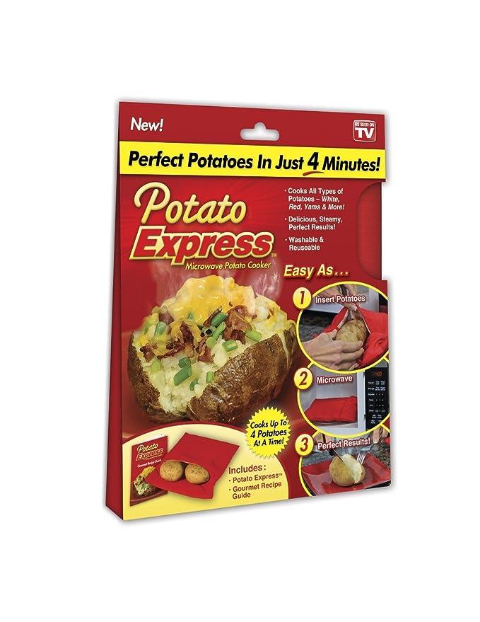 Amazon.com: EXPRESS de patata Microondas Cocina De Patata ...