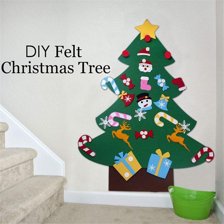 Oggettistica Kaimus fai da te albero di Natale feltro con ...
