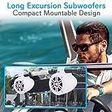 Waterproof Marine Wakeboard Tower Speakers - 4in