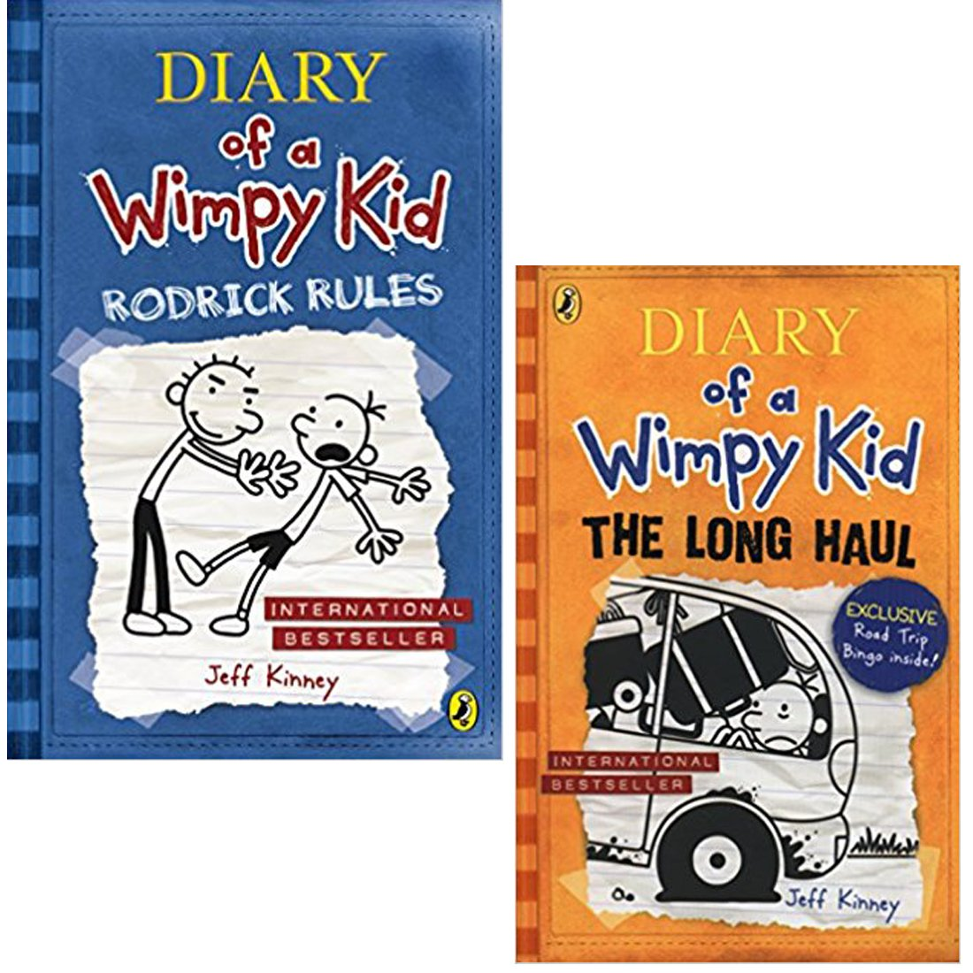 Buy Novel Combo Set Diary Of A Wimpy Kid Rodrick Rules The Long Haul Diary Of A Wimpy Kid Book 9 By Jeff Kinney Author Paperback Online At Low Prices In India