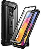SUPCASE Unicorn Beetle Pro Series Designed for LG G8 Case & LG G8 ThinQ Case(2019 Release) Full-Body Rugged Holster Case with Built-in Screen Protector (Black)