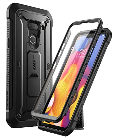 SUPCASE Unicorn Beetle Pro Series Designed for LG G8 Case & LG G8 ThinQ Case(2019 Release) Full-Body Rugged Holster Case with Built-in Screen ...